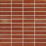 Buy cheap Strip Ceramic Mosaic Tiles , Polished Porcelain Tiles For Bathroom Floor from wholesalers