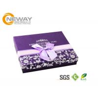 Buy cheap Square Wedding Chocolate Gift Wrapping Boxes , Biodegradable Gift Packaging Boxes from wholesalers