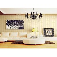 China Romantic Individuality Natural Plant Fibers Victorian Damask Wallpaper For Sofa Background on sale