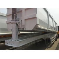 Buy cheap Construction Business Semi Trailer Truck 3 Axles High Work Efficiency from wholesalers