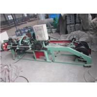 Buy cheap 1.6 - 3.0 Mm Single Strand Barbed Wire Making Machine Durable Long Service Life from wholesalers