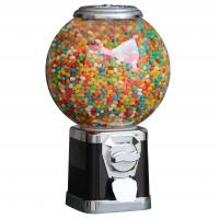 Buy cheap 21*21*45CM   PC globe Plastic candy gumball capsules vending machine from wholesalers