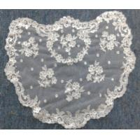 Buy cheap Ivory/White Spanish style veils and mantilla Catholic chapel lace - Small from wholesalers