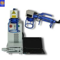 Buy cheap High Precision Laser Logo Printing Machine , Portable Engraving Machine For Steel from wholesalers