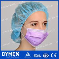 Buy cheap Non woven Disposable White Polypropylene 3 Ply Tie-on BFE 99% Face Mask from wholesalers