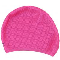 Buy cheap Rose Red Swimming Cap , Personalized Swim Cap That Keeps Hair Completely Dry from wholesalers
