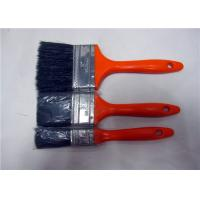 China Multi Color Plastic Handle Flat Shape Wall Cleaning Brush , Paint Brushes For Ceiling on sale