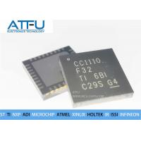 Buy cheap CC1110F32RHHR Integrated Circuit Chip QFN36 Wireless RF Transceiver High Sensitivity from wholesalers