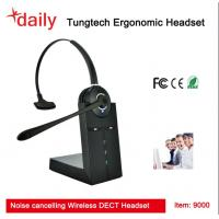 Buy cheap Wireless DECT Telephone Headset With 8 Hours Talking Time,Long Distance Wireless Range from wholesalers