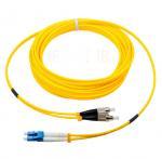 Buy cheap FC to LC singlemode duplex optical fiber jumper 0.2dB insertion loss corning fiber from wholesalers
