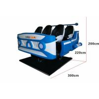 Buy cheap Dynamic Electric System 9d VR Cinema With 4 Special Effects Multiple Seat Option from wholesalers