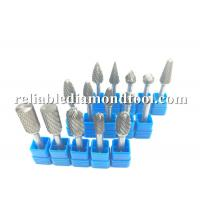 Buy cheap ISO Hardness Tungsten Carbide Burrs , 8mm Shank Cylindrical Carbide Ball Burr from wholesalers