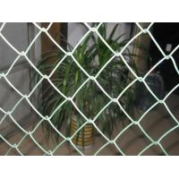 Buy cheap PE-Coated  6ft x 50ft 50x50mm opening 9gauge steel wire Chain Link Fence for Tennis Court from wholesalers