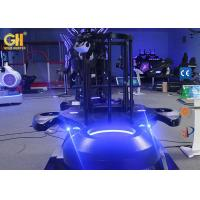 Buy cheap Two Seats 9D Cinema / Space Ship VR Game Machine Cool Armor Shape 5.5m² product