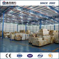 Buy cheap Prefabricated Steel Building Steel Structure Warehouse for Logistics Storage from wholesalers