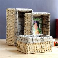 Buy cheap Decorative Handwoven Rattan Storage Basket from wholesalers