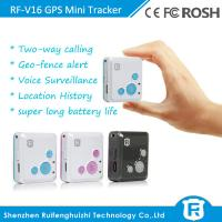Buy cheap RF-V16 mini gps tracking chip tracker with geo-fence alarm from wholesalers