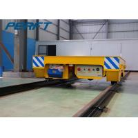 Buy cheap Battery Powered Electric Flat Transfer Car on Rail with Remote and Hand from wholesalers