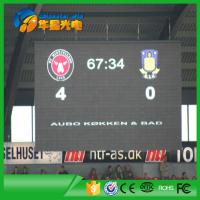Buy cheap Full Color P6 Outdoor Stadium LED Screen Display for Video Displaying Match Goal product