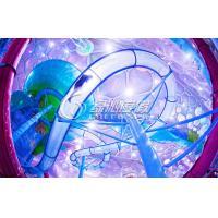 Children / Adults Outdoor Colorfull Fiberglass Water Slides Equipment for Water Park Resort