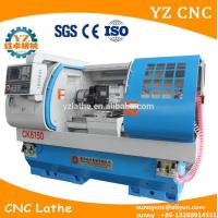 Buy cheap CK6150 CNC Lathe machine with power head and milling tools high speed from wholesalers