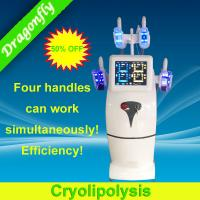 Buy cheap Cool Tech Cryolipolysis Equipment Cellulite Reduction For Whole Body Patents from wholesalers