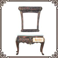 Buy cheap prince classic dressing table (bedroom furniture) / elegant living room furniture mirrored dressing table1121HBW from wholesalers