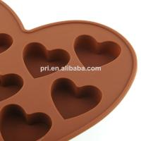 Buy cheap reusable food grade Silicone Cake Moulds in heart shape for baking from wholesalers