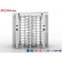 Buy cheap Bi - Directional Full Height Turnstile Revolving Metal Passage Access Control product