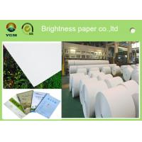 Buy cheap 787mm Postcard Printer Paper Jumbo Rolls , Lightweight Banner Printing Paper from wholesalers