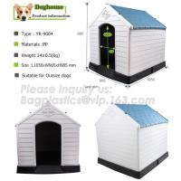 Buy cheap New Style Outdoor Breathless Removable Dog House Plastic Three Sizes Plastic Dog House, Cat Dog House Of Pet Home, bagea from wholesalers