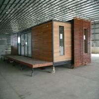 Buy cheap Luxury Container Space Box Modular Prefabricated Metal Homes Livable House Villa 40ft Single Wide from wholesalers