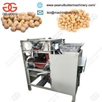 Buy cheap Hot Sale Stainless Steel Wholesale Chickpea Gram Skin Peeling Machine With Low Price from wholesalers