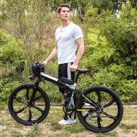 Buy cheap Lightweight Adults Electric Assist Bicycle With Mechanical Front And Rear Disc Brake from wholesalers