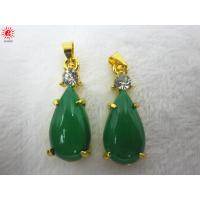 Buy cheap Fashionable Green Resin Charm Necklace Pendant Jewelry Accessories product