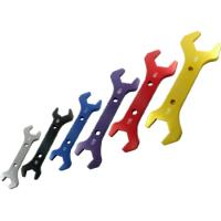 Buy cheap Billet Aluminium 7-Pcs double end Fittings Alloy Spanner Wrench Set from wholesalers