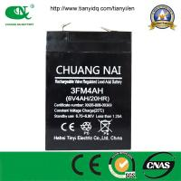 Buy cheap Electric Scale Battery 6V4AH Sealed Lead Acid Battery, VRLA/AGM/Mainenance Free/UPS Battery from wholesalers