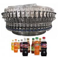 Buy cheap Soft Carbonated Drink Filling Machine / Production Line , Pepsi Bottle Machine from wholesalers
