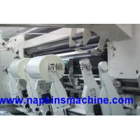 Buy cheap Thermal Paper Film Roll Slitting Machine , Aluminium Foil Rewinding Machine from wholesalers