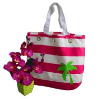 Buy cheap 16 Ounce Canvas Shopper Bag Pink Nylon from wholesalers