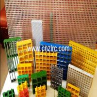 Buy cheap Fiberglass Pultruded Grating, Fiberglass Pultrusion Profile, FRP/GRP I Beam Grating from wholesalers