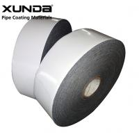 Buy cheap PE Gas Pipe Insulation Tape , Black / White Color Wrapping Tape For Pipe from wholesalers