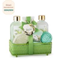 Buy cheap OEM Relaxing Bath Gift Sets Skin Whitening Feature Magnolia Scent Moisturizing product