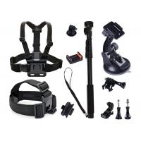 Buy cheap GoPro Sport Camera Kit 13 in 1 Head Strap Mount + Chest Belt Strap Mount from wholesalers