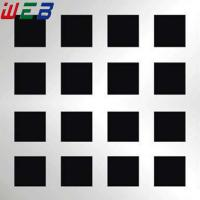 Buy cheap square hole perforated metal sheet from wholesalers