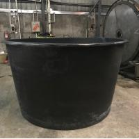 Buy cheap 1000gallon Food Grade Round large Open Top Water Rservoir Aquaculture plastic fish farm tank for shrimp and fish from wholesalers