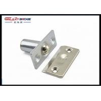 Buy cheap Stainless Steel Glass Door Stopper , Brushed Satin Nickel Hydraulic Magnetic Door Catch from wholesalers
