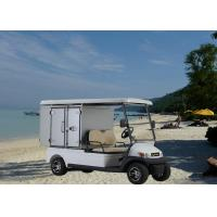 Buy cheap Aluminum Box Utility Golf Cart Street Legal With 2 Seats / Cargo Bed Battery Powered from wholesalers