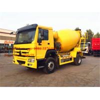 Buy cheap 290hp America Motor 4*2 Concrete Mixing Equipment Howo 8CBM Capacity 300L from wholesalers