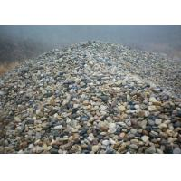 Buy cheap Natural River Unpolished Decorative Landscaping Stone Ornamental Garden Pebbles from wholesalers